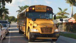 081514 eco-friendly school bus miami-dade