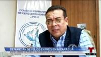 Denuncian sepelios express en Nicaragua
