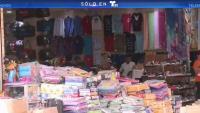 Cubanos de compras en Nicaragua