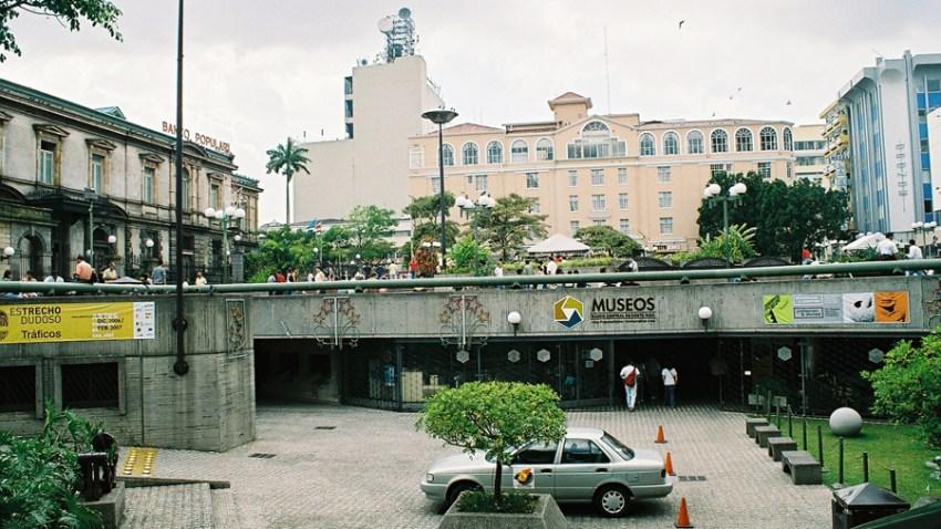 Entrada del Museo de Oro Precolombino