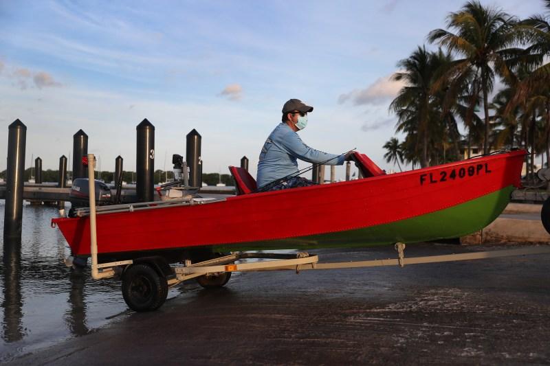 En imágenes: La reapertura de parques, campos de golf y marinas en Miami-Dade