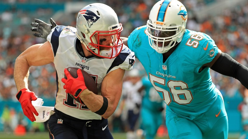 Game 2 (No Brady) - W: Pats 31-Dolphins 24