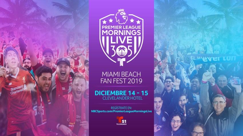 Fan Fest Premier League en Miami Beach