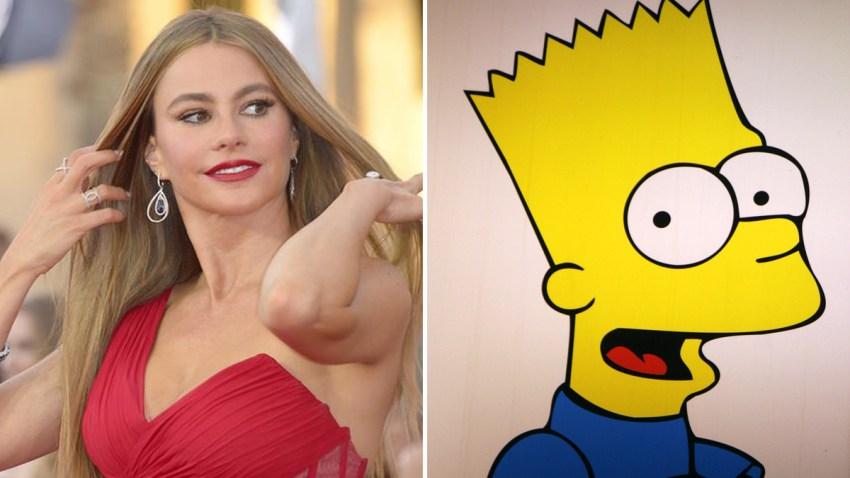 Sofia-Vergara-Bart-Simpson
