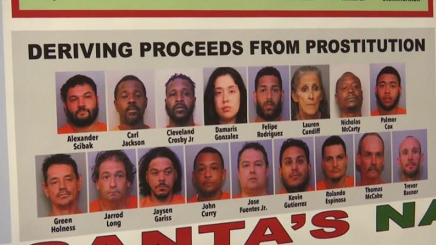 Arrestan a 120 personas tras redada de prostitución