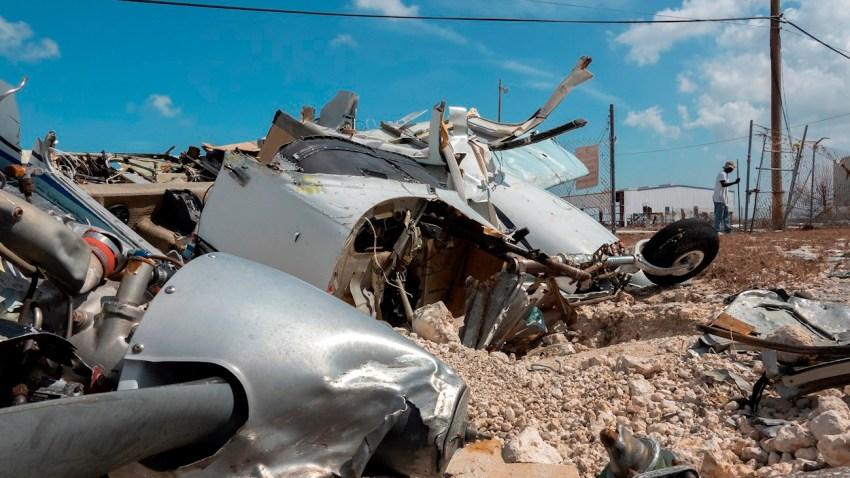 Cincuenta cadáveres sin reclamar todavía en Ábaco tras el huracán Dorian