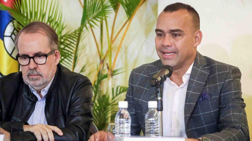 Rueda de prensa del seleccionador Rafael Dudamel