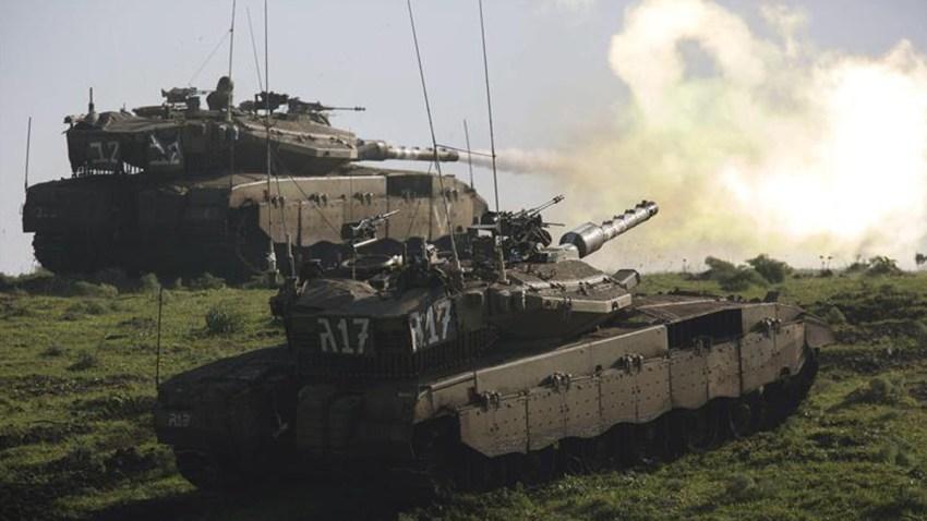 israel-libano-tanques