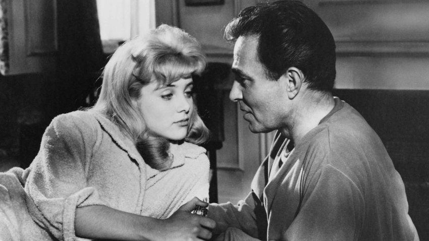 """Sue Lyon en una escena de la película """"Lolita"""" dirigida por Stanley Kubrick."""