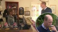 Príncipe William aprovecha reapertura de bares para tomarse una cerveza