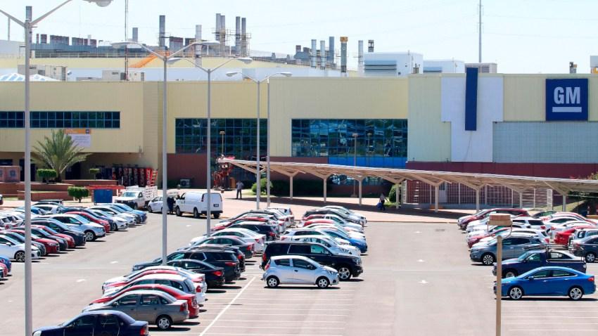 Planta de GM en Guanajuato
