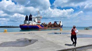 Puerto de Dos Bocas, en Tabasco