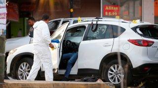 Escena de crimen en Guadalajara