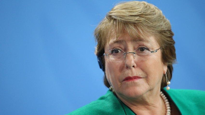[FIFA2017] Michelle Bachelet consuela a la selección chilena