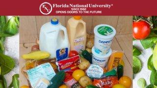 Entrega de alimentos en FNU