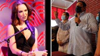 Lupita Jones y Félix Salgado, dos de los polémicos candidatos en México