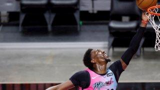 El jugador de Miami Heat, Bam Adebayo