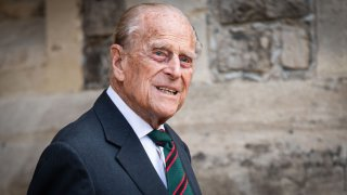 Prince Philip, Duke of Edinburgh during the transfer of the Colonel-in-Chief of The Rifles at Windsor Castle on July 22, 2020, in Windsor, England. The Duke of Edinburgh has been Colonel-in-Chief of The Rifles since its formation in 2007. HRH served as Colonel-in-Chief of successive Regiments which now make up The Rifles since 1953. The Duchess of Cornwall was appointed Royal Colonel of 4th Battalion The Rifles in 2007.