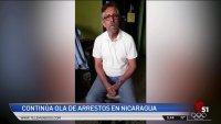 Continúa ola de arrestos en Nicaragua