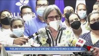 Parlamento Europeo aprueba sanciones contra régimen de Ortega