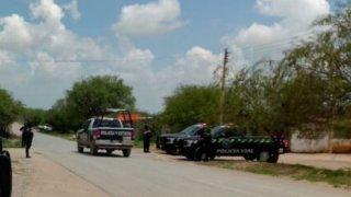 Patrullas y vehículos policiales en Pánuco, Zacatecas