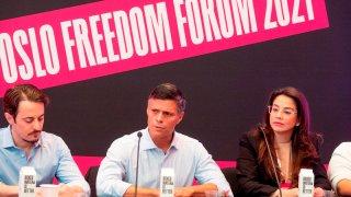 Oslo Freedom Forum 2021, Leopoldo López