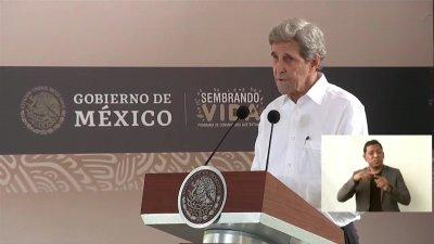 John Kerry defiende en México el uso de energías limpias