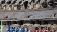 Coliseo romano completa primera fase de restauración