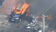 Avioneta se estrella en transitada calle y deja saldo mortal