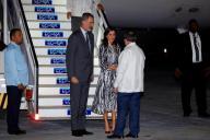 Reyes de España inician polémica visita a Cuba