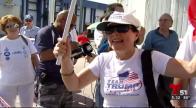 Protestas y apoyo a Trump entre manifestantes de Miami