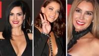 Estas famosas se robaron las miradas en el evento Natpe 2017 de Telemundo Internacional.