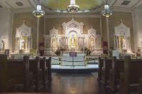 Aquí llegaron los primeros católicos de Miami. Sirvió de albergue para soldados en la primera guerra mundial.