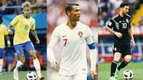 Los 3 jugadores más mediáticos del planeta están en todos los titulares, pero no como quisiéramos verlos.