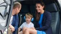 Mira las tiernas fotos del primer retoño de los príncipes William y Kate en su tercer cumpleaños.