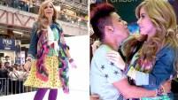La estrella del pop compartió con sus fanáticos y lució una vestimenta muy colorida que recordó a sus inicios a finales de los 80.
