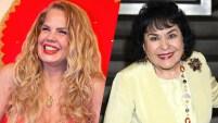 """Carmen Salinas estaba enojada con Niurka Marcos, quien dijo que había sido mejor """"Aventurera"""" que Edith González poco después..."""