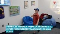 El Aeropuerto Internacional de Miami inauguró el salón en el mes sobre la conciencia respecto al autismo.