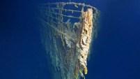El video es impresionante, y muestra parte del barco que se hundió entre el 14 y 15 de abril de 1912.