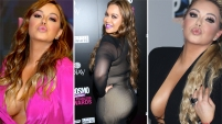 La hija de Jenni Rivera sabe cómo robarse las miradas con sus curvas y aquí te mostramos sus looks más sexys.