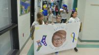 El Día Internacional del síndrome de Down se celebró a todo dar en una escuela de Kentucky.