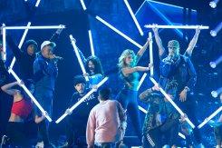 Una probadita: ensayos de los Premios Billboard