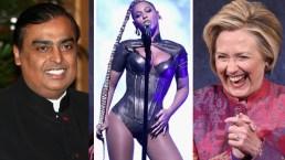 Beyoncé canta para la hija del hombre más rico de la India