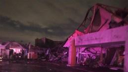 En fotos: tornado deja ola de destrucción en Dallas