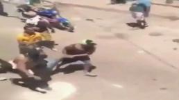 Joven muere baleado por militares del régimen de Maduro