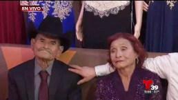 ¡Abuelos de Rubí invitan a todos a la fiesta de 15 años!