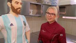 """Messi esta """"hecho"""" de chocolate para su cumpleaños ¡Feliz día al astro argentino!"""