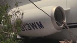 Se sale de la pista y se parte en dos; accidente de avioneta en Honduras