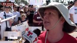 Marcha por nuestras vidas: su hijo fue asesinado en Pulse