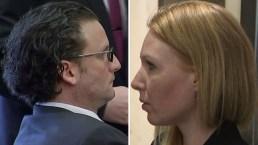 Tensión: enfrenta a exnovio acusado de querer matarla